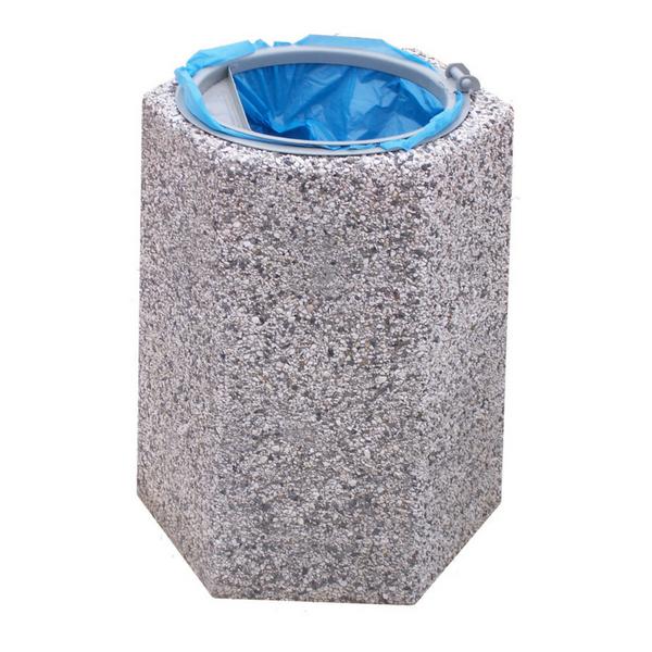 Kosz z betonu na śmieci Felicja 70 L