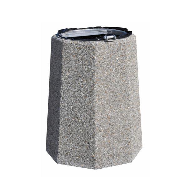 Kosz betonowy na śmieci Ada 70 L