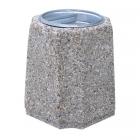 Betonowy kosz na śmieci Idylla 40 L
