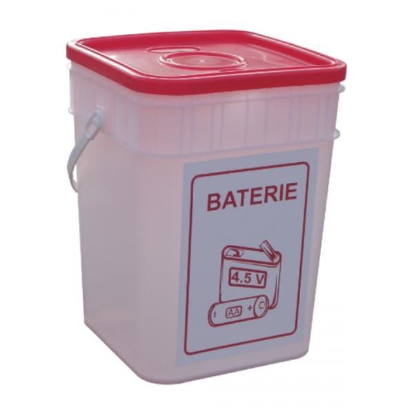 Pojemnik na zużyte baterie/leki 15 L