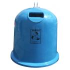 Pojemnik do selektywnej zbiórki odpadów Dzwon Igloo PAPIER