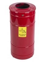 Metalowy pojemnik na zużyte środki ochrony 80 L