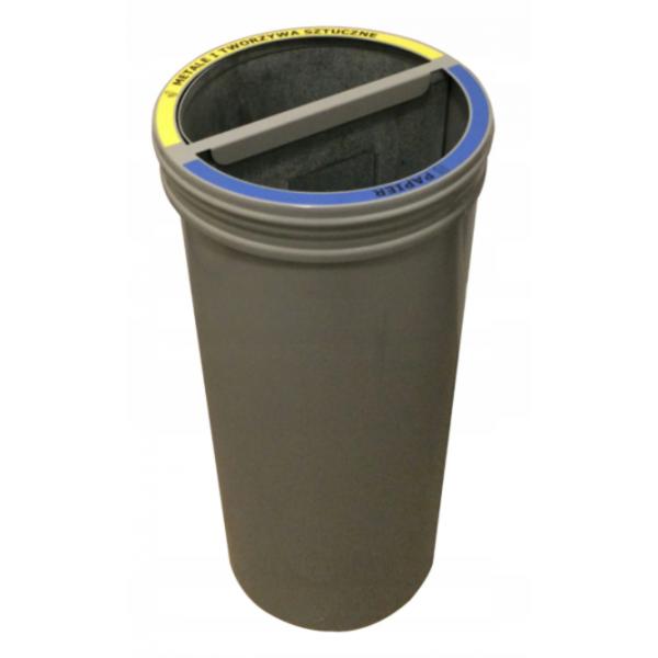Kosz 2-modułowy do segregacji odpadów 48L (2x24L)