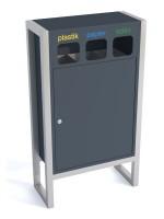 Pojemnik na odpady CHIC 3 x 25 L