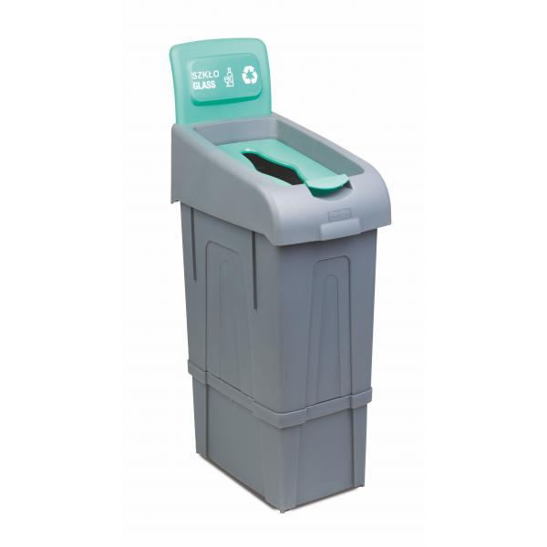 Kosz do segregacji odpadów Sort Column o pojemności 80 L