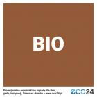 Naklejka na kosz do segregacji odpadów 15 x 15 cm – odpady bio