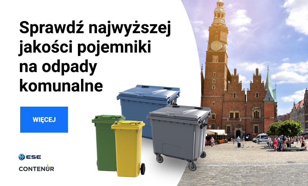 Pojemniki na odpady komunalne
