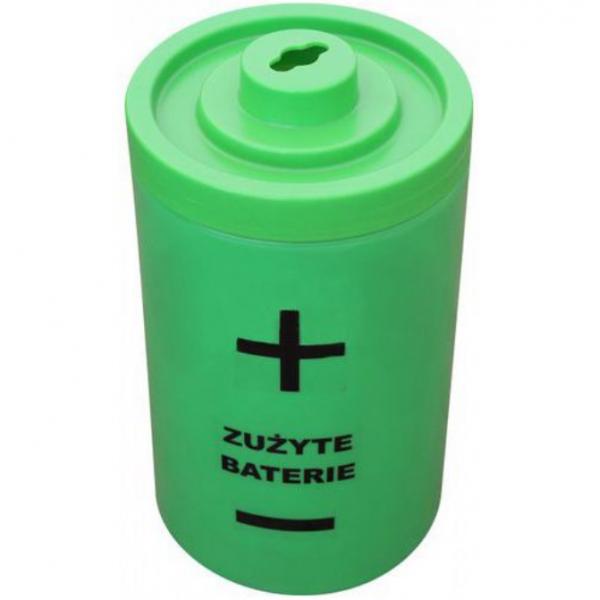 Pojemnik na zużyte baterie 40 L