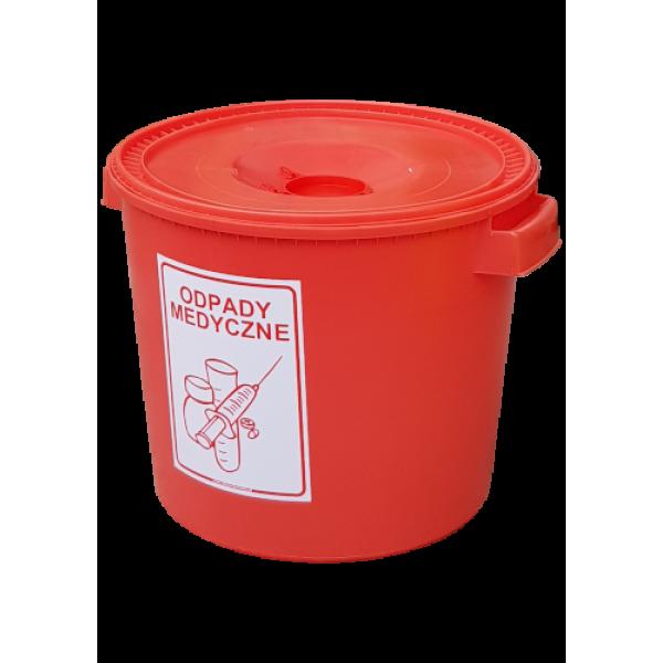 Pojemnik na odpady medyczne 30 L