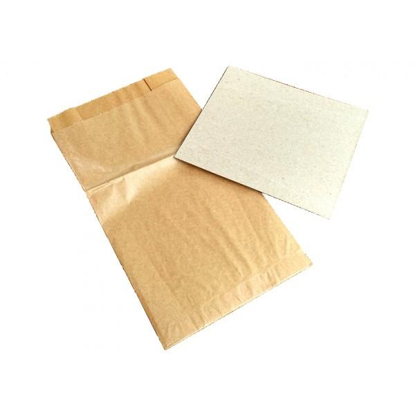Papierowy zestaw higieniczny AS z łopatką (50 szt.)