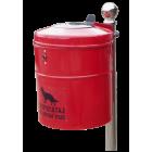 Uliczny pojemnik na odchody zwierzęce REX 35 L