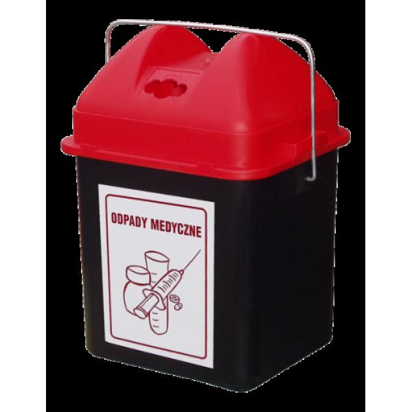 Pojemnik na zużyte baterie/odpady medyczne -  20 L