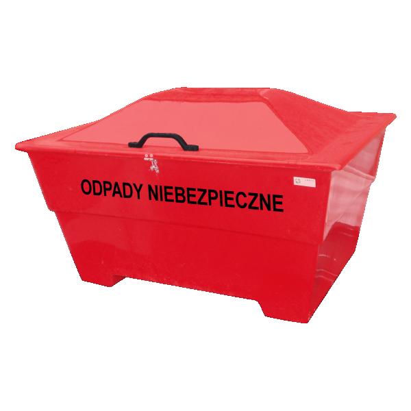 Pojemnik na odpady niebezpieczne 220L/450L