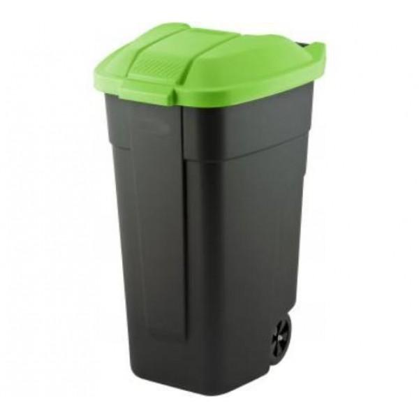 Pojemnik do segregacji odpadów Curver na kółkach 110 L