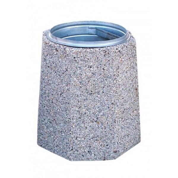Kosz z betonu Zuza 70 L