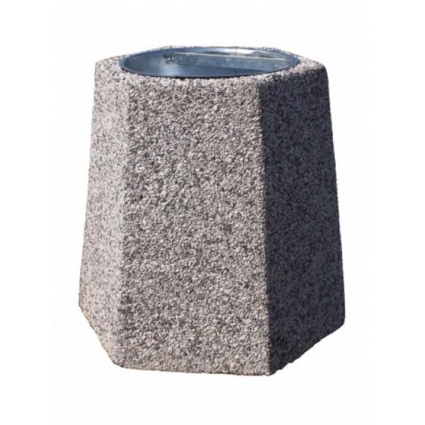 Kosz betonowy na śmieci Felix 40 L