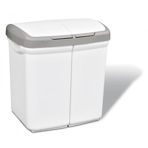Kosz do segregacji śmieci Ecobin 2x25L Meliconi