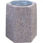Betonowy kosz na śmieci Flora 40 L