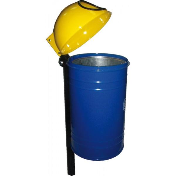 Uliczny kosz na śmieci Żbik 60L