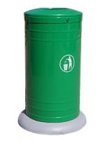 Uliczny kosz na śmieci Missisipi 50L