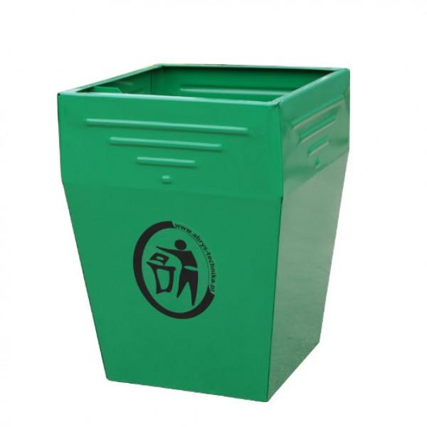 Uliczny kosz na śmieci Park 50L