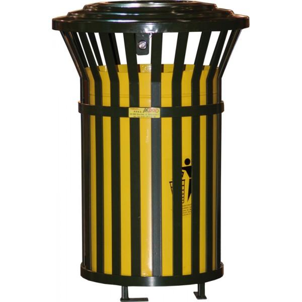 Uliczny kosz na śmieci Tytus 100L