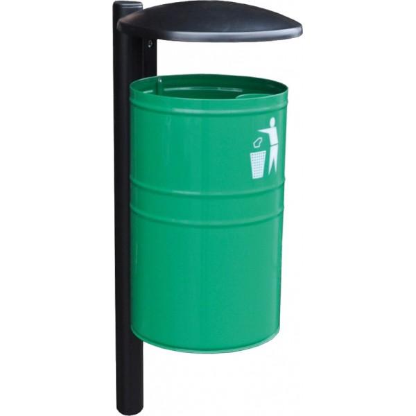 Uliczny kosz na śmieci Alabama 35L