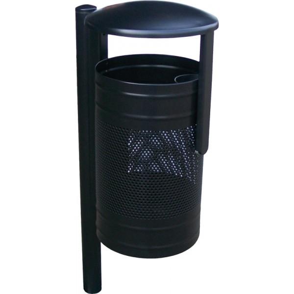 Uliczny kosz na śmieci Teksas 35L