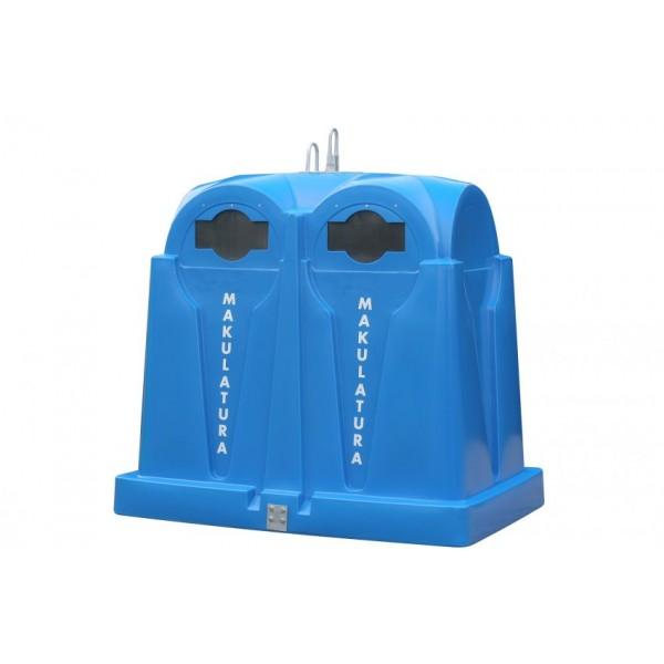 Pojemnik do selektywnej zbiórki odpadów EuroLeader 2,5 m3 Kingspan