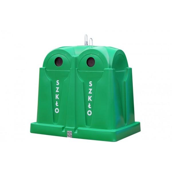 Pojemnik do selektywnej zbiórki odpadów SuperLeader 3,5m3 Kingspan