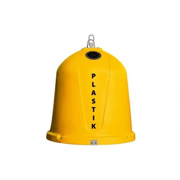 Pojemnik do selektywnej zbiórki odpadów IgloLeader 1,5 m3 Kingspan