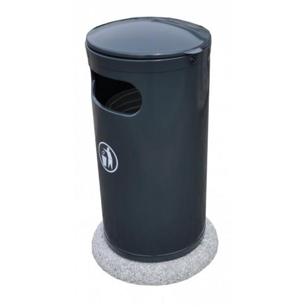 Uliczny kosz na śmieci Wirginia 50L