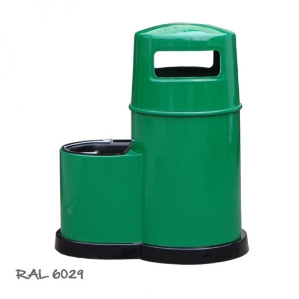 Uliczny kosz na śmieci Koszo - Myjka 85L