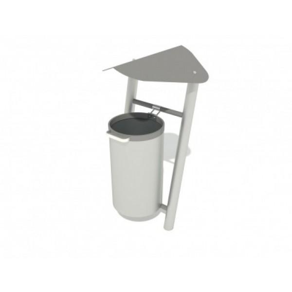 Kosz na śmieci metalowy PLAYEKO