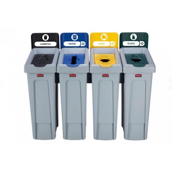 Stacja do segregacji odpadów Slim Jim