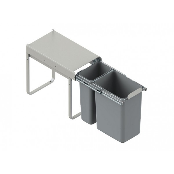 Segregator szafkowy 20l + 9l (30 cm)