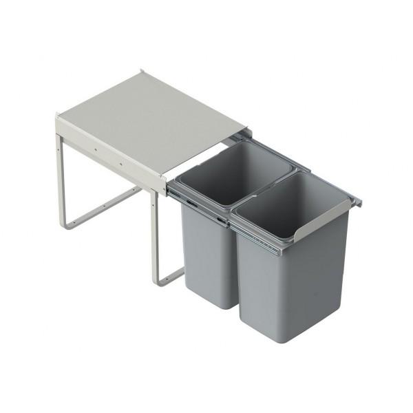 Segregator szafkowy 2x20 L (40 cm)