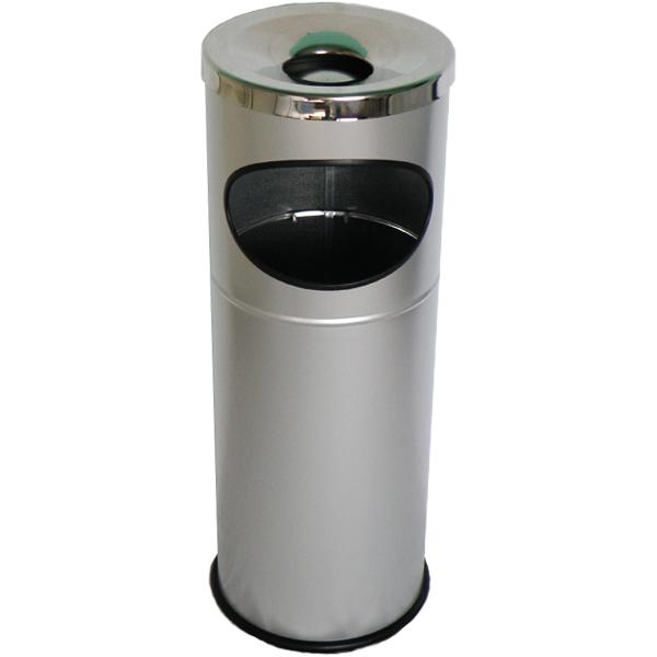 Pojemnik metalowy z popielnicą Tabarella 17 L