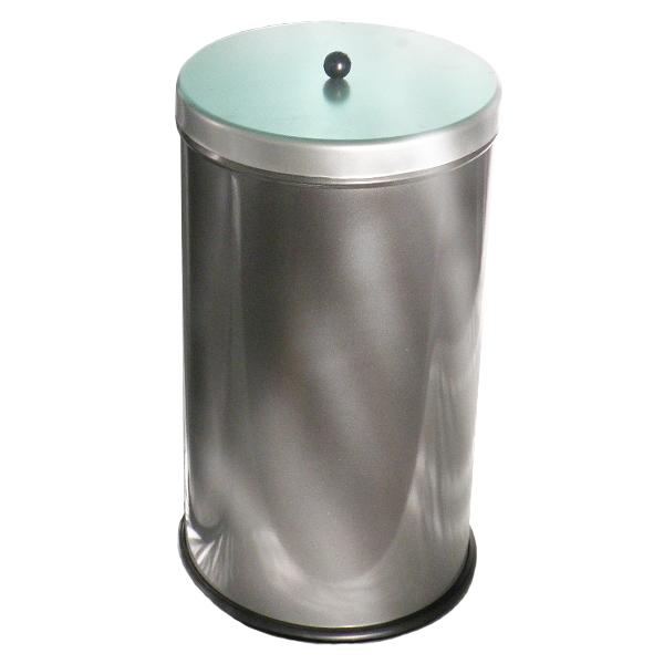 Pojemnik metalowy z pokrywą i uchwytem Lukka 25 L