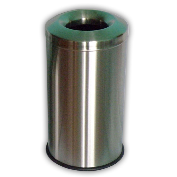 Pojemnik metalowy samogaszący ze stali nierdzewnej INOX 10 L