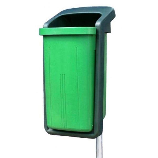 Uliczny kosz na śmieci ELEGANT 50 L