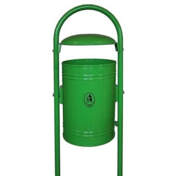 Uliczny kosz na śmieci KOr-4 35 L