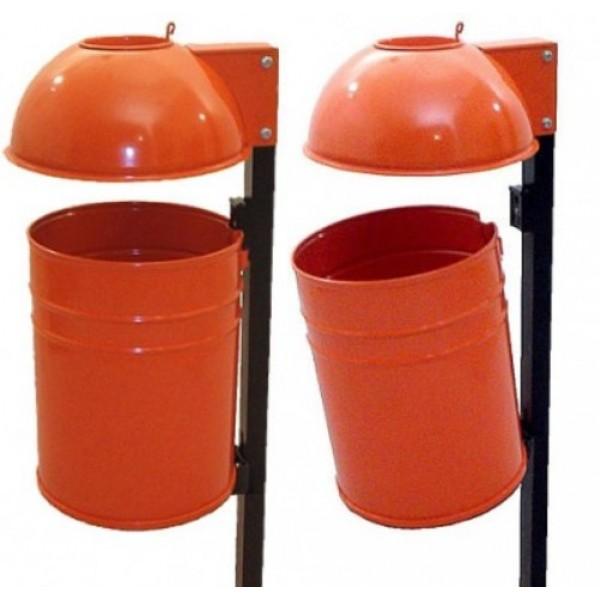 Uliczny kosz na śmieci KZ-3 35 L