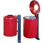 Uliczny kosz na śmieci KD-11 50 L