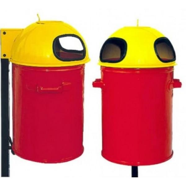 Uliczny kosz na śmieci KZ-1 35 L