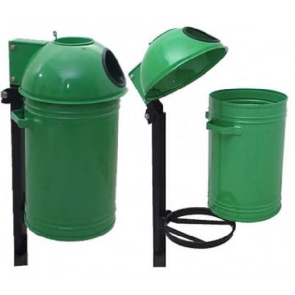 Uliczny kosz na śmieci KZ-4 35 L