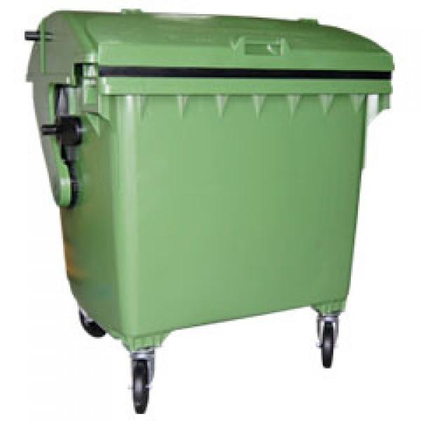 Pojemnik na odpady 1100 l półokrągły Weber