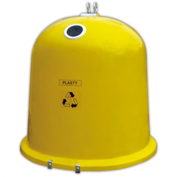 Pojemnik do selektywnej zbiórki odpadów Dzwon Igloo PLASTIK