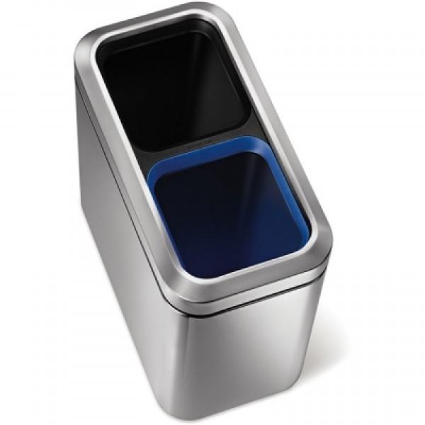 Kosz na śmieci dwukomorowy Recycler 20 L Simple Human