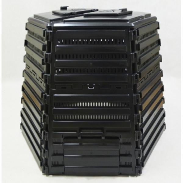 Ekokompostownik TERMO-1400 L czarny